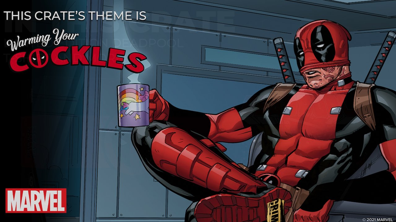 Loot Crate Launches 'Warming Your Cockles' Deadpool Merch