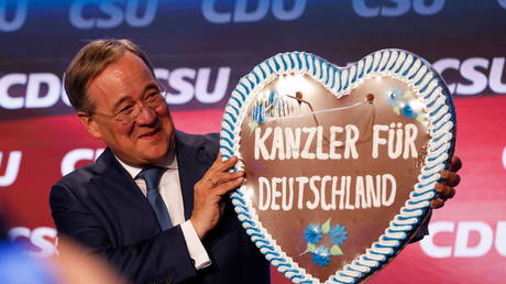 68% of Germans want CDU's chancellor candidate Laschet to resign from all political posts after election loss – YouGov poll