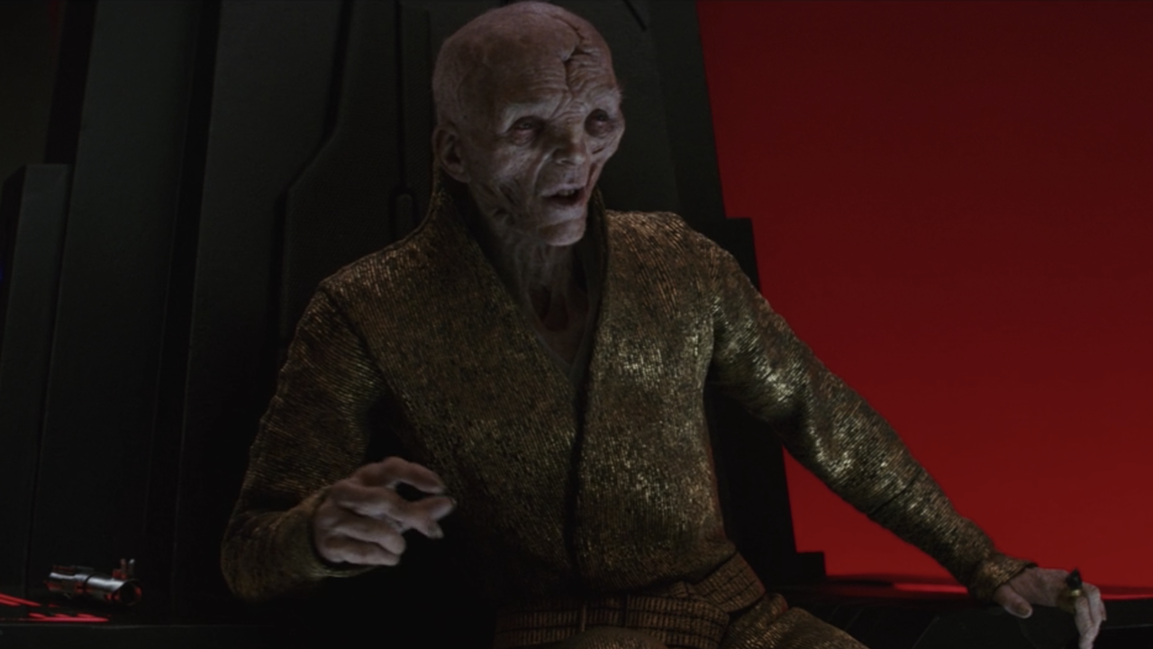 Star Wars' Andy Serkis Reveals How He Feels About Snoke's Fate Nowadays