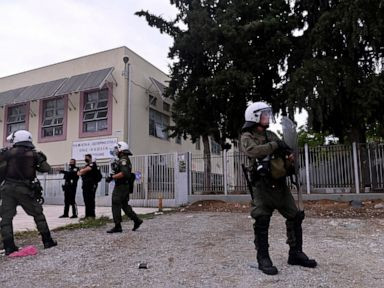 6 arrested at Greek school protest backed by far-right group