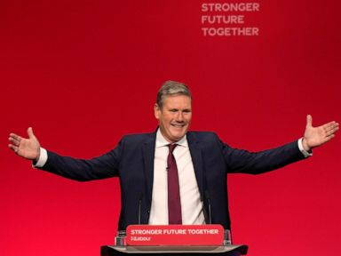 UK Labour chief woos voters, tackles critics amid govt woes