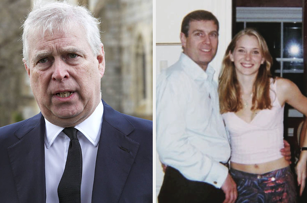 Prince Andrew Has Been Served With A Sexual Abuse Lawsuit By Jeffrey Epstein Accuser Virginia Giuffre