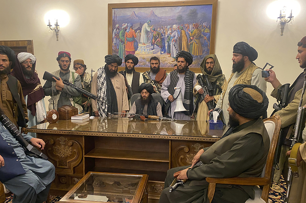 This Is What The Fall Of Kabul To The Taliban Looks Like